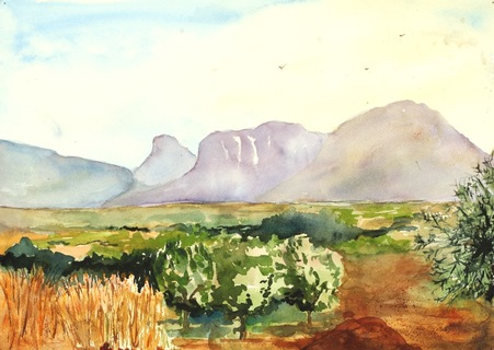 DRAKENBURG MOUNTAINS