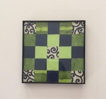 Green/Blue Swirl