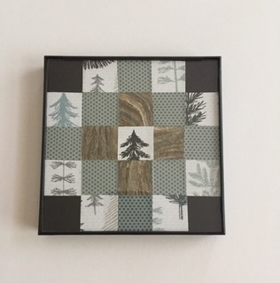 Wasp Paper Mini Quilt (Winter)