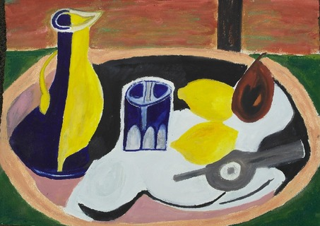Still Life after Braque I