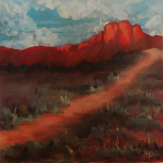 Path to Red Mountain