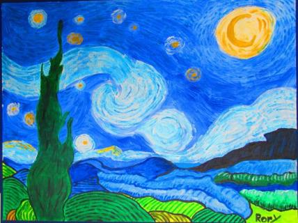 Rory's Starry Night