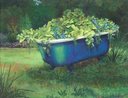 Blue Tub